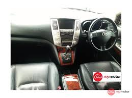 lexus used car hk 2007 toyota harrier for sale in malaysia for rm79 800 mymotor