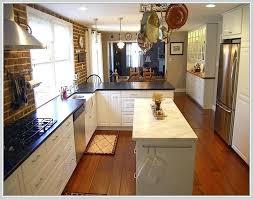 narrow kitchen island narrow kitchen ideas fitbooster me