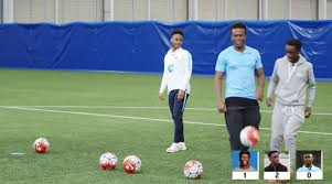 Challenge Ksi Ksi And Manny Take On Manchester City S Raheem Sterling In