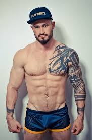chest and left sleeve tribal