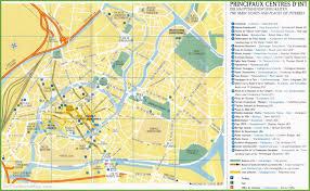 Map Of Alabama Cities Strasbourg Sightseeing Map