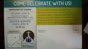 Church Invitation Cards What Are You Doing For Easter U2014 Sbc Voices