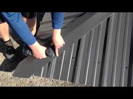 Hips Roof Hip Cap Installation Youtube