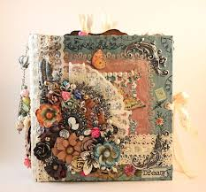 Scrapbooking Albums 933 Best Albums Shabby Chic Images On Pinterest Mini Albums