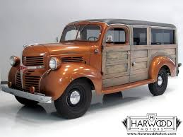 1946 dodge panel truck 1946 dodge wc panel delivery woody speed style