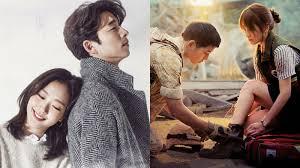 film korea rating terbaik diawali dengan descendants of the sun dan diakhiri goblin deretan