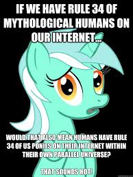 Rule 34 Memes - if we have rule 34 of mythological humans on our internet would