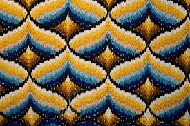 vintage colorful patterns on textile texture textures for