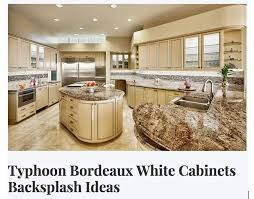 Backsplash Ideas With White Cabinets by 273 Best Granite With White Cabinets Images On Pinterest White