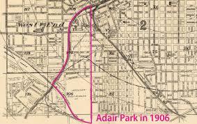 Atlanta Neighborhood Map by Adair Park Beltlandia