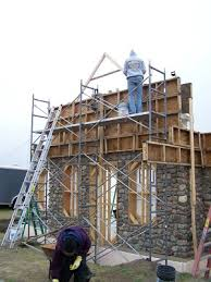 How To Build A Small House The Art Of Slipforming A Stone Masonry Primer Do It Yourself