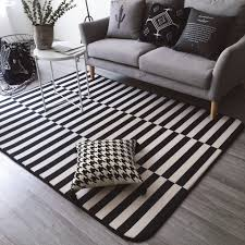 Checkered Area Rug Black And White by Online Buy Wholesale Black White Rug From China Black White Rug