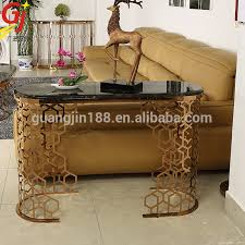 Gold Console Table Modern Gold Console Table With Mirror Buy Gold Console Table