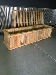 Seating Out Of Pallets by Planter Box Made From Pallets Do It Yourself Wood Projects Ideas