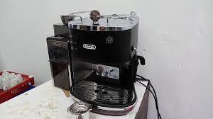 vintage espresso maker tutorial mesin espresso delonghi icona vintage ecov 311 bk youtube