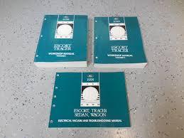 1998 escort tracer sedan wagon oem service manual