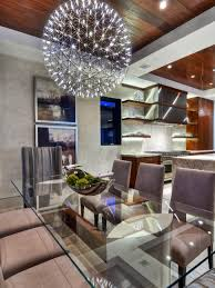 modern dining room lighting ideas dining room narrow console table design also beautiful