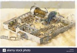 cross section of an ancient egyptian u0027house of the dead u0027 process