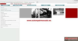 gsic toyota hilux 2005 2013 workshop manual auto repair manual