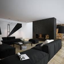 3d floor open living room bestsur modern minimalist black and