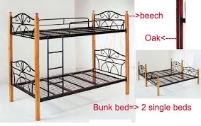 Bunk Bed Convert To  King Single Frame - King single bunk beds