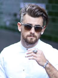 Mens Hairstyles Long On Top Shaved Sides by Donpabloonline Hair Pinterest Haircuts Hair Style And Fashion