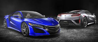 the stylish and powerful 2017 acura nsx has returned