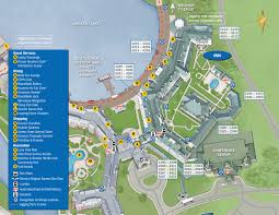 Disney Map Boardwalk Resort Map Kennythepirate Com