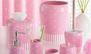 girly bathroom accessories bathroom interior home design ideas