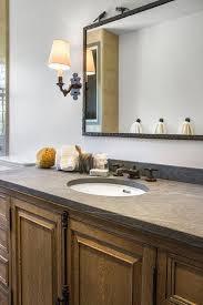 Wrought Iron Bathroom Furniture Casement Bathroom Vanity With Pietra Cardosa Sandstone