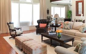 Colonial Interior by Decorating Den