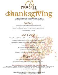 where to order turkey for thanksgiving thanksgiving day buffet carry out u0026 leftover kit u2014 polo grill and bar