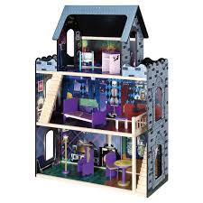 Doll House Furniture Ideas Maxim Monster Mansion Wooden Doll House Hayneedle