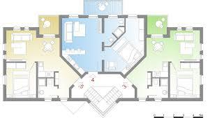 Mehrfamilienhaus Mehrfamilienhaus Modern Grundriss