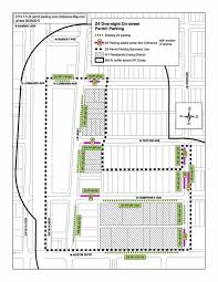 Chicago Permit Parking Map by Oak Park Adds More Overnight Street Parking Oak Leaves