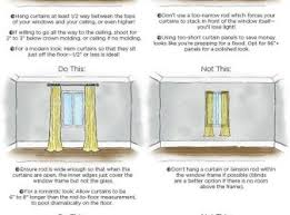 How Wide To Hang Curtains Curtains Properly Hang Curtains Decorating Ideas About Hanging On