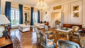 French Chateau Interior Historic Luxury Chateau In Normandy France On The Market For