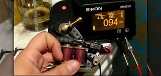 ballpoint pen tattoo gun how to tune or setup of a tattoo machine for lining shading