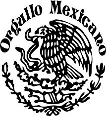 orgullo mexicano mexican eagle vinyl decal sticker