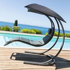 siege suspendu jardin fauteuil suspendu brasilia gris achat vente balancelle fauteuil