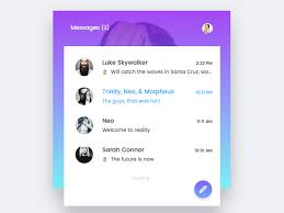 group chat view sketch freebie download free resource for sketch