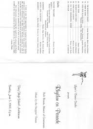 c sarienne programm e b b en si ge troy high class of 1969 ths programs pics etc