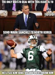 Mark Sanchez Memes - and that is what they call a burn on you mr sanchez ny jets