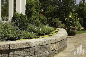 concrete retaining wall prefab for garden enclosures stone