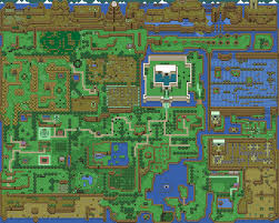 Map Of Hyrule Map Of Hyrule Marin Zeldapedia Fandom Powered By Wikia Game Mods