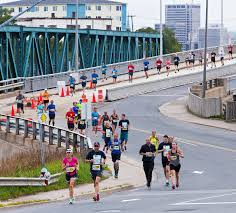 Boston Marathon Route Google Maps by Marathon Marathon By The Seamarathon By The Sea