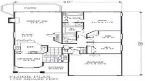 31 craftsman house floor plans craftsman house plans camas 30 711