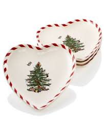 spode tree set of 2 peppermint baubles china macy s