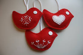 felt christmas ornaments felt christmas 6 felt christmas ornaments 3
