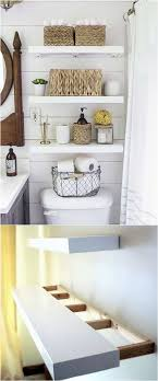 Best Bathroom Shelves 25 Floating Shelves Bathroom Ideas On Pinterest Half Bath With
